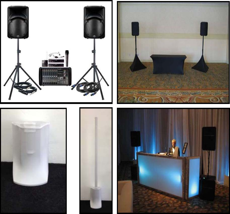 A/V & Lighting Audio – Sound System