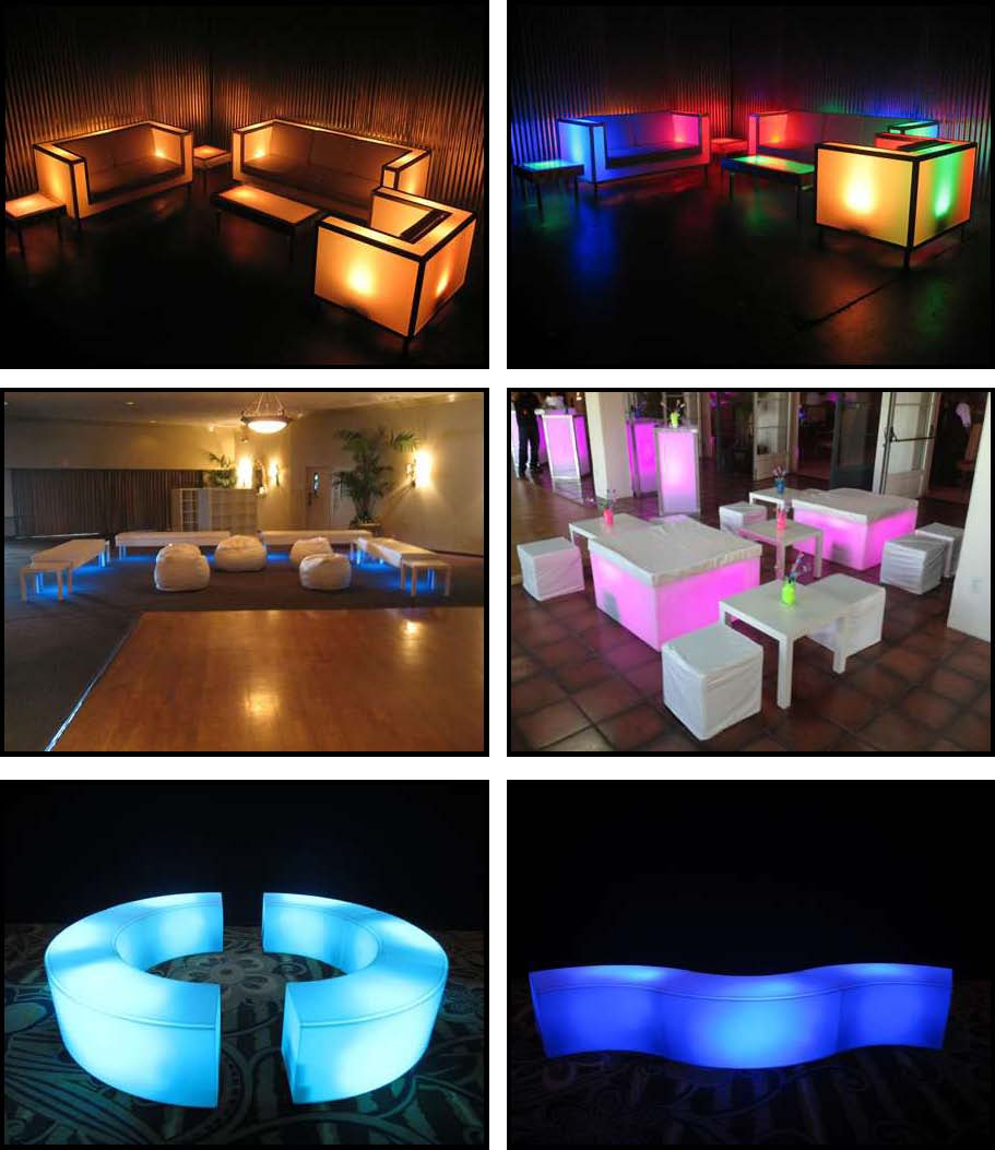 Props & Products LED Furniture